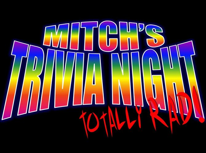 Scoop: Mitch's Totally Rad TRIVIA